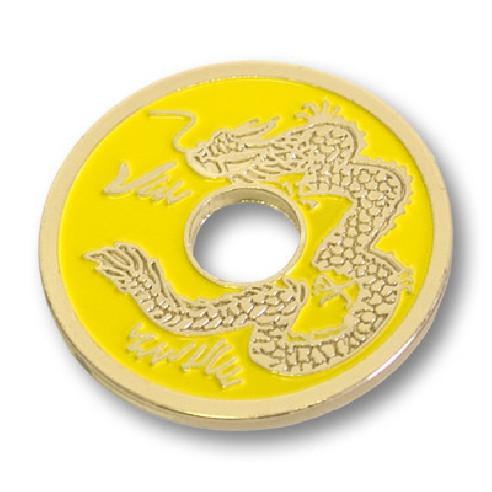 MONEDA CHINA 1/2 DOLAR - AMARILLA