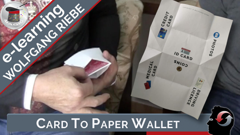 Card to Paper Wallet by Hans...