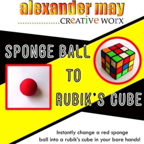 BOLA A CUBO DE RUBIK - Alexander May