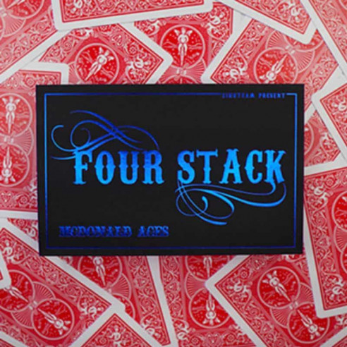FOUR STACK - BICYCLE ROJA