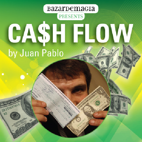 CASH FLOW ( DVD + GIMMICKS) - JUAN PABLO