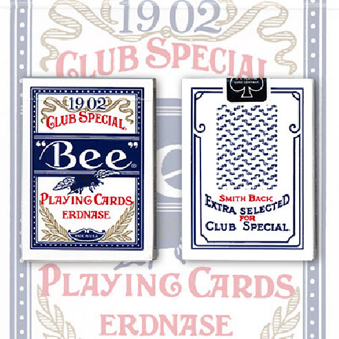 Erdnase 1902 Bee Playing Cards - Blue...