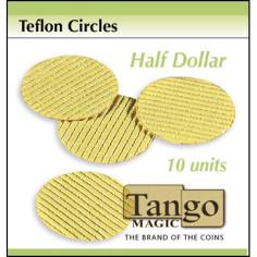 Teflon Circle Half Dollar...