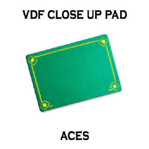 VDF Close Up Pad with Printed Aces...