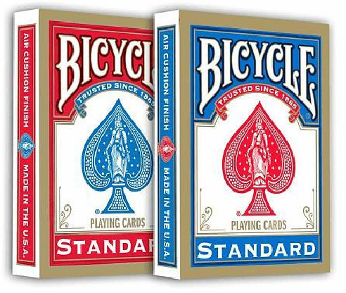 Bicycle Poker Deck - 808 Rider Back -...