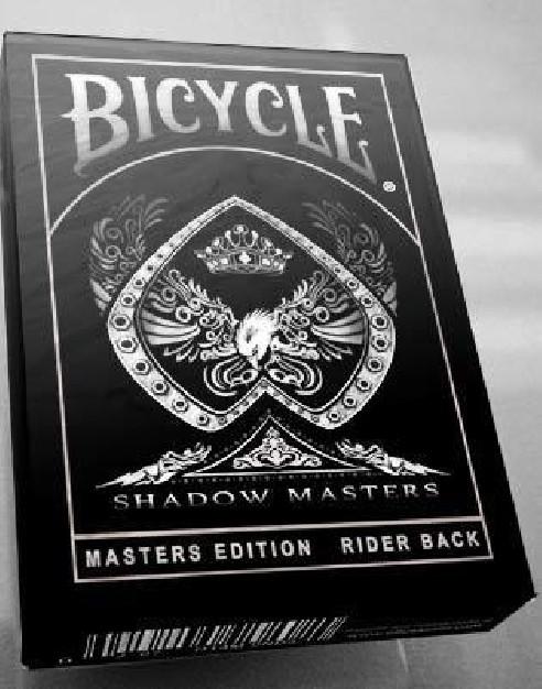 BARAJA BICYCLE MASTER SHADOW ELLUSIONIST