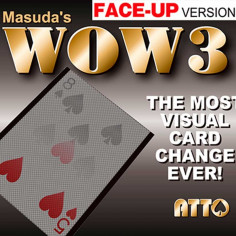 WOW 3 Face-Up (Gimmick and...