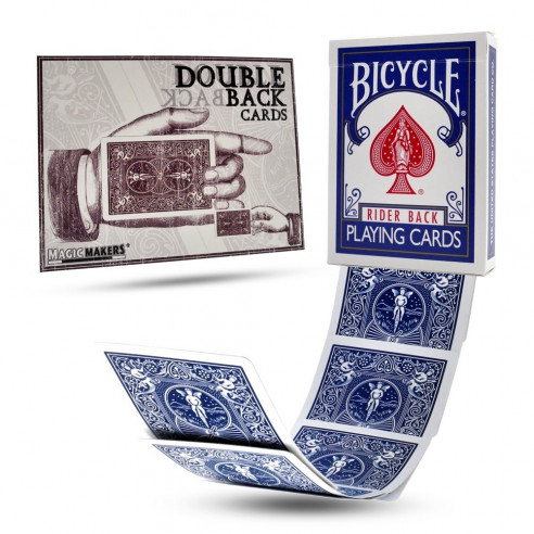 Double Back BLUE, BIKE, Poker